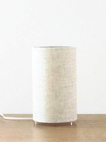 Luminaire d/éco chambre idee cadeau anniversaire lampe chevet cadeau cr/émaill/ère lampe dappoint lampe /à poser scandinave hygge lampe tube lin