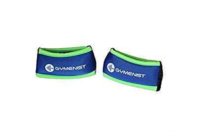 Gymenist Wrist Weights Running Stylish Bracelet Pair Of Weights Set of 2 from Gymenist