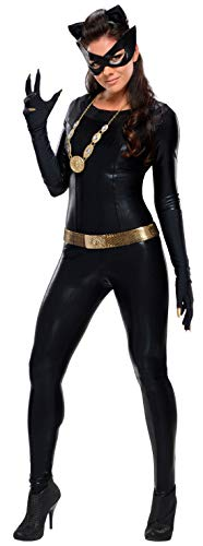 Bodysuit Catwoman Costumes - Rubie's Grand Heritage Catwoman Classic TV Batman Circa 1966, Black, Large