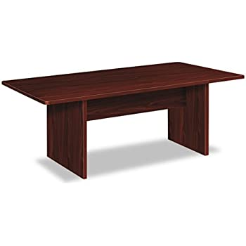 HON BL Series Conference Table, Rectangle, Flat Edge Profile, Slab Base, 72