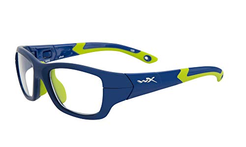 Wiley X Youth Force Wx Flash Royal Blue/Lime Green Frame Sunglasses