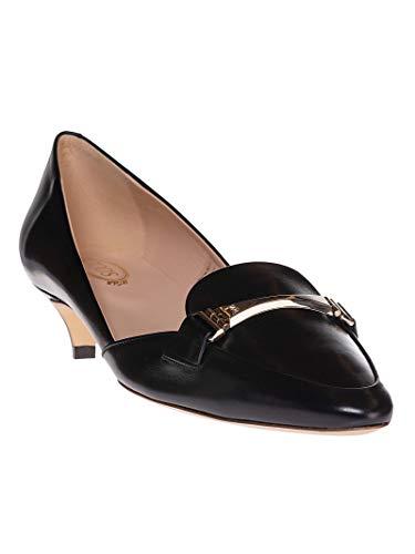 Talons À Noir Cuir Xxw17b0z810bssb999 Femme Chaussures Tod's nfaAPWC