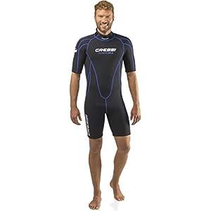 Cressi Shorty Men's Wetsuit for Water Activities – Tortuga 2.5mm Premium Neoprene