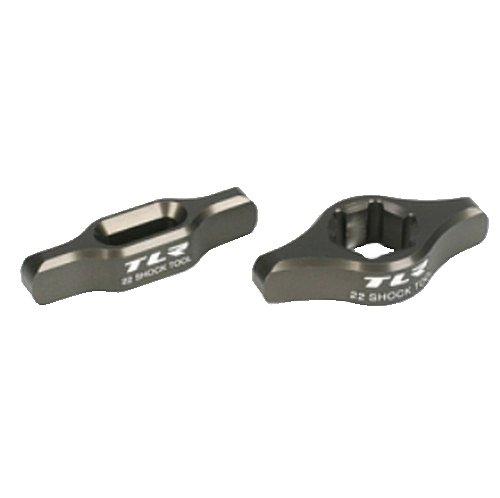 Team Losi Racing Shock Tool Kit Aluminum: 12mm Shock