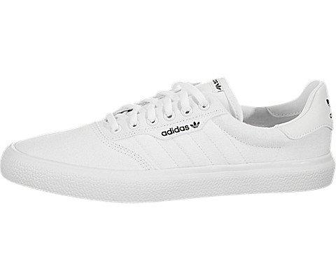 adidas Originals 3MC Skate Shoe, White/White/Gold Metallic, 9.5 M US ()