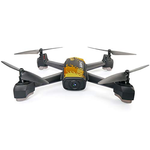 WANG XIN Professional Drone GPS Positioning Return Four-axis Aircraft 720P HD Aerial Remote Control Aircraft (Color : Yellow) by WANG XIN (Image #4)