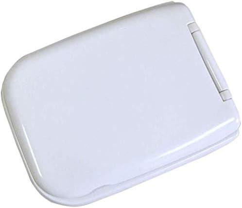 IAIZI 尿素 - ホルムアルデヒド樹脂との便座、スクエア互換性の便座のために抗菌超耐性トイレのふたを遅くなることはありませホワイト-43 * 33センチメートル