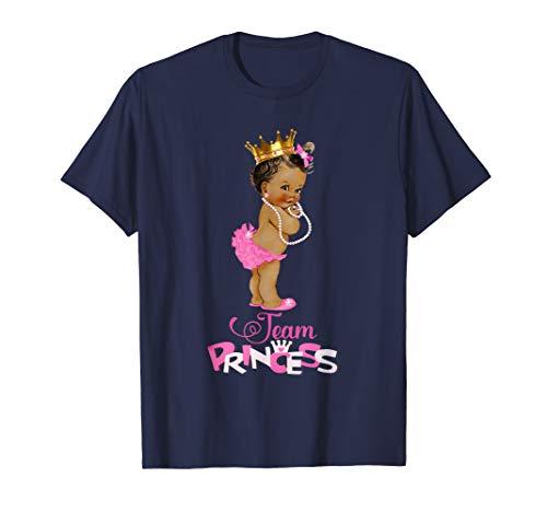 Cute Team Princess Ethnic Team Girl Baby Gender Reveal Shirt (Baby Ethnic Girl)