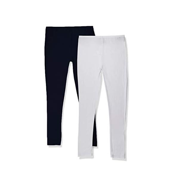 Colkor Leggings Long Femme Taille Haute,Taille Unique, fabriqué en France, Lot de 2