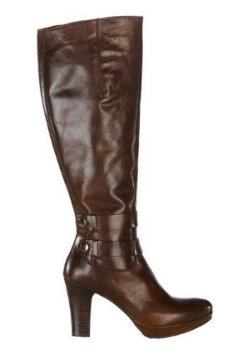 Zinda Stiefel - Náuticos de cuero Mujer marrón - Marron - Cognac