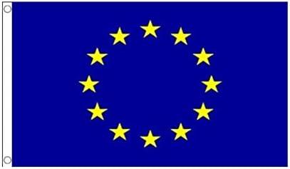 Bandera de Europa Europe unión Europea Papel Banderas Europa Pin de Metal: Amazon.es: Deportes y aire libre