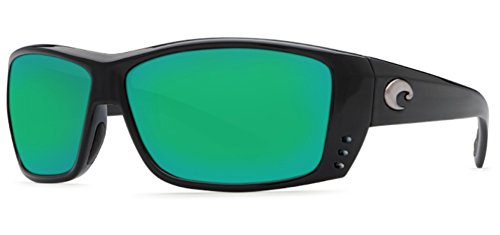 Sunglasses Costa Del Mar CAT_CAY AT 11 OGMGLP BLACK GREEN MIR 580Glass