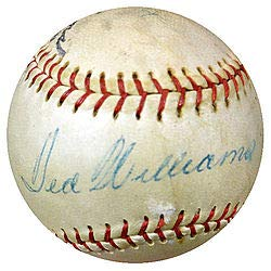- Ted Williams Signed Wilson Baseball Boston Red Sox 1950's Vintage Signature - PSA/DNA Authentication - Autographed MLB Baseballs