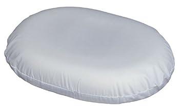 Dmi 14 Inch Molded Foam Ring Donut Seat Cushion Pillow For Hemorrhoids Back Pain White
