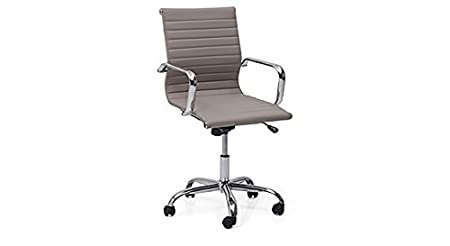 Urban Ladder Charles Study Chair - 2 Axis Adjustable (Colour : Grey)