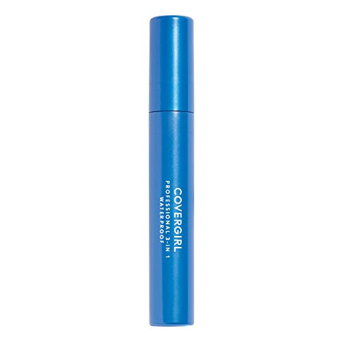 COVERGIRL Professional Waterproof Mascara Very Black 225 0.3 Fl Oz (Packaging may - Waterproof Mascara Black