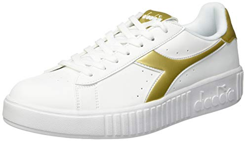 Graphic Step oro bianco Multicolore Sportive Game Donna C1070 Scarpe Diadora EaZyTnqg