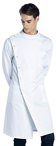 Dr. James Unisex Howie Styled Lab Coat (43 Inch Length) S -