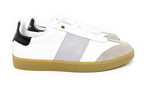In Project Sneakers Womsh K Made grigio Pelle Italy Uomo Bianco CpYqwwxd
