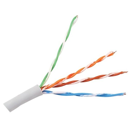 C.I. Pro CAT-5 Telecommunications Cable, 1000 Feet, Solid Copper Twisted Pair Construction (CP CAT5E-CL EZ1000)