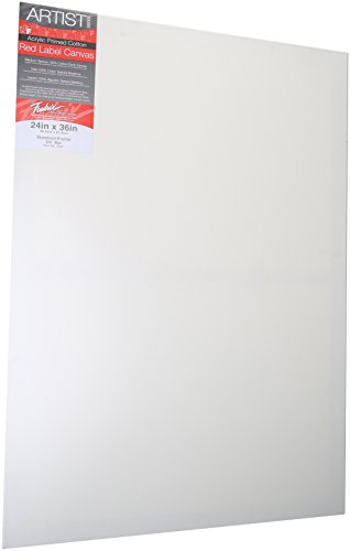 Price comparison product image Fredrix 5031 Stretched Canvas, 24 by 36-Inch