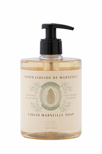 Panier des Sens Liquid Marseille Soap, Sweet Almond, 16.9 Ounce