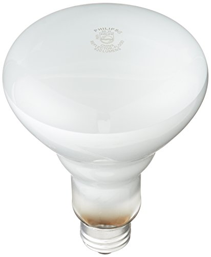 Philips 248872 Flexible White 65-Watt BR30 Indoor Flood Light Bulb, 12-Pack