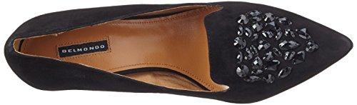 Belmondo para 01 Mujer Negro Zapatos Nero 703522 1TrwU1