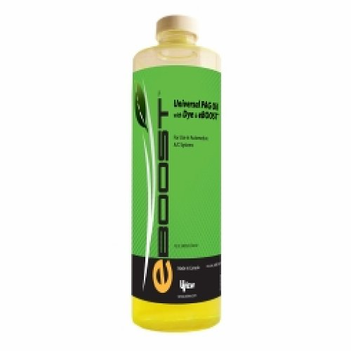 Universal PAG Oil with Dye and eBoost - 16 oz./480ml Bottle by Generic