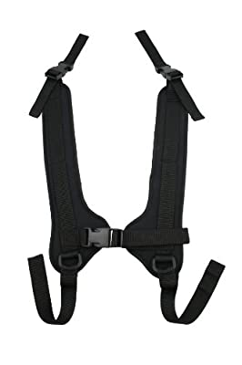 Rehabilitation Advantage Wheelchair Chest Harness with Front Quick Release Buckle