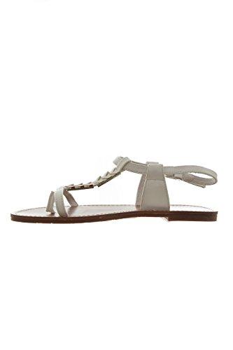 sandales - nu pieds les p'tites bombes petunia blanc
