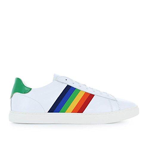Dsquared2 Men Shoes Sneaker Nieuwe Tennis Wit Groene Lente-zomer 2018