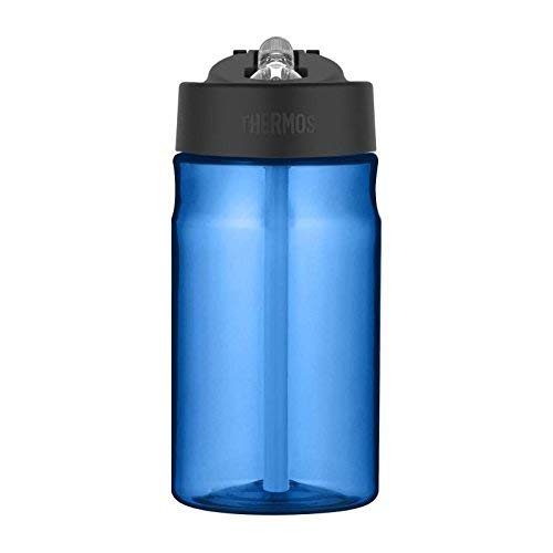 Thermos 12 Ounce Tritan Hydration Bottle, Blue (Thermos With Straw 12 Oz)