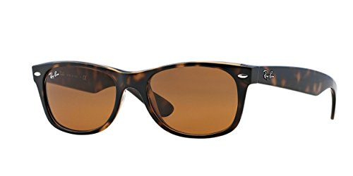 Ray-Ban NEW WAYFARER - YELLOW/BROWN TORTOISE Frame CRYSTAL BROWN Lenses 52mm - Summer Ray Ban