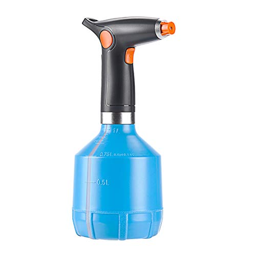 ACG-INC Electric Plant Mister Spray Bottle for Indoor/Outdoor Plants, Electric Watering Can with Adjustable Copper Spout, Automatic Plant Watering Devices, for Alcohol, Cleaning Home, Sterilization