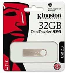 Flash Memory 32GB USB2.0 Metal - DTSE9H/32GB