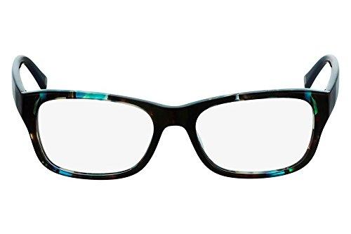 Óculos De Grau Marchon Nyc M-Trinity 320/54 Tartaruga Verde Azulado