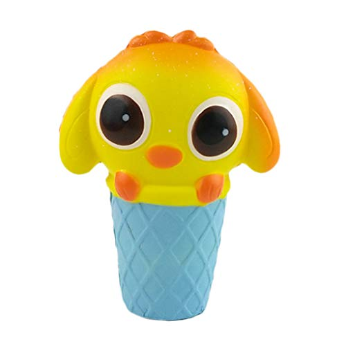 MOZATE Lovely Squishies Adorable Cartoon Animal Slow Rising Cream Scented Decompression Toy C