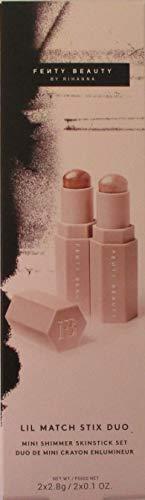 (FENTY BEAUTY by Rihanna Lil Match Stix Duo Mini Shimmer Skinstick Set)