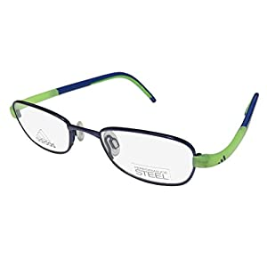 Eyeglasses Adidas Lite Fit Full Rim Performance Steel kids A 002 6057 blue