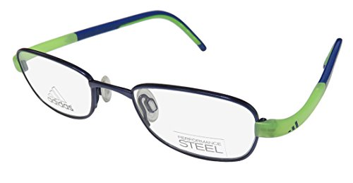 Eyeglasses Adidas Lite Fit Full Rim Performance Steel kids A 002 6057 blue