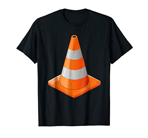 Traffic Cone Costume T Shirt | Construction Matching Costume]()