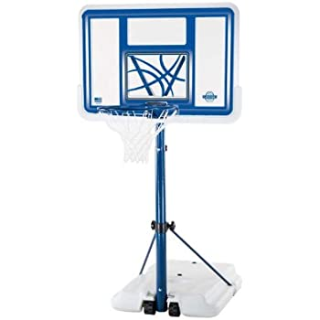 Lifetime 1306 Pool Side Height Adjustable Portable Basketball System, 44 Inch Backboard