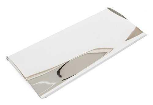 From the Anvil 33063 Small Cast Letterplate Cover-Polished Chrome