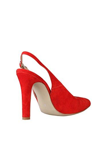 19V69 EDWIGE - Zapatos de talón abierto Mujer Rojo