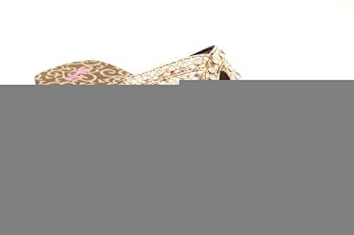 Blazin Roxx Tongs Janis Femme, Cuir Marron, 5 M