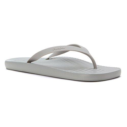 People Footwear , Herren Zehentrenner Grau SKYLINE GREY