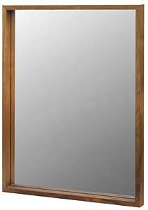 LALUZ Boîte Miroir L Marron