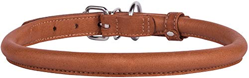 Pictures of CollarDirect Rolled Leather Dog Collar Soft Padded 4