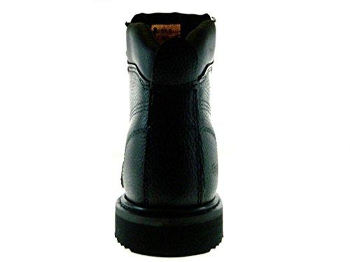 Full Safty Duty Heavy Sole Resistant Work Eagle Leather Black 623 Mens Oil Boots EpRWYnq1TY